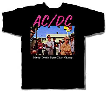 AC/DC T-Shirt DIRTY DEEDS DONE DIRT CHEAPACD139